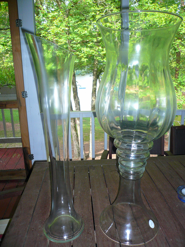 Glass Tower Vases - Party Spin - For that Special Occasion or